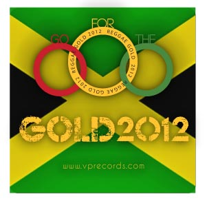 Sticker Reggae Gold - 3.75
