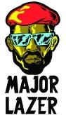 Major Lazer - Major Face & Logo