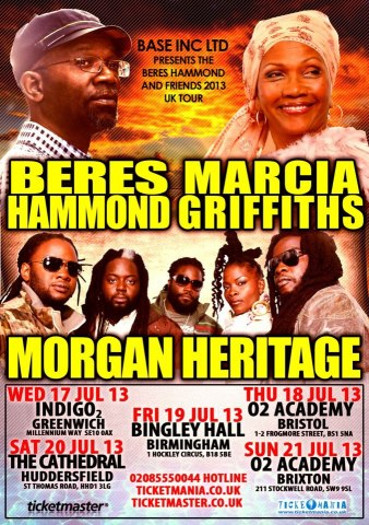Beres Hammind Marcia Griffiths Morgan Heritage