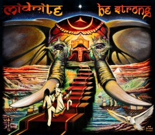 Midnite - Be Strong - Artwork