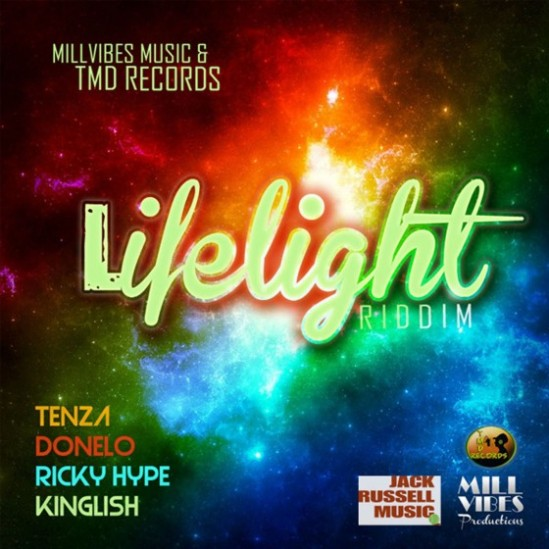 Album Art Life Light Riddim - TMD Records