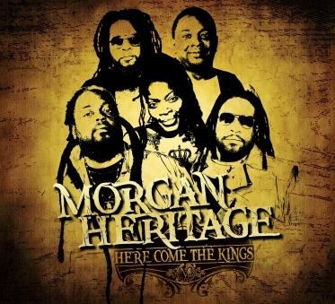 Morgan Heritage - Here Come The Kings - Artwork
