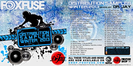 Dr Jay - FOX FUSE Distribution Sampler (Winter 2013) (Cover)