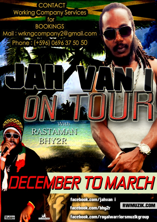 Jah Van i on tour II