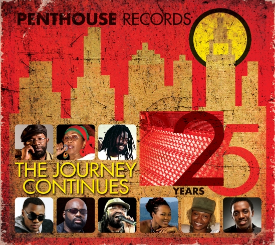 Penthouse Records 25 Years - artwork large