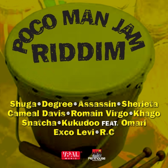 Various Artists - Poco Man Jam Riddim - Artwork