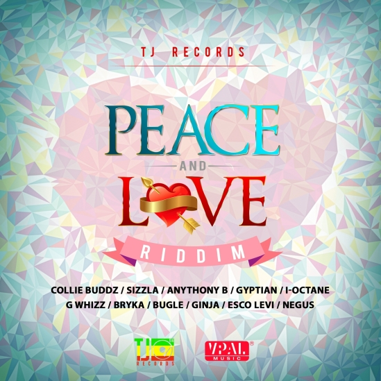 Various Artists - Peace and Love Riddim - Artwork