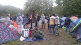 Fest på Campingen